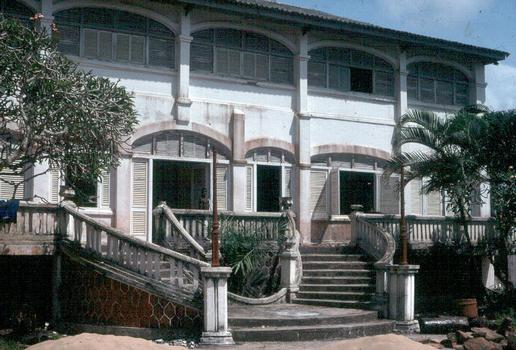 Former governor's palace in Grand-Bassam (Ivory Coast)