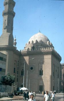 La mosquée du sultan Hassan au Caire