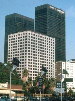 Bank of America Tower, Los Angeles.