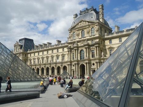 L'aile Richelieu du Palais du Louvre