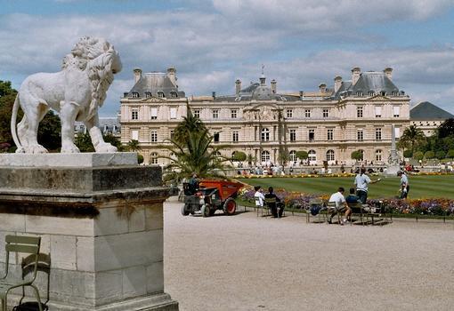 Le Palais du Luxembourg, côté jardin