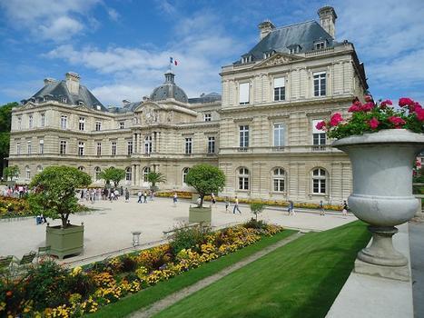 Le Palais du Luxembourg, siège du Sénat (Paris 6e)