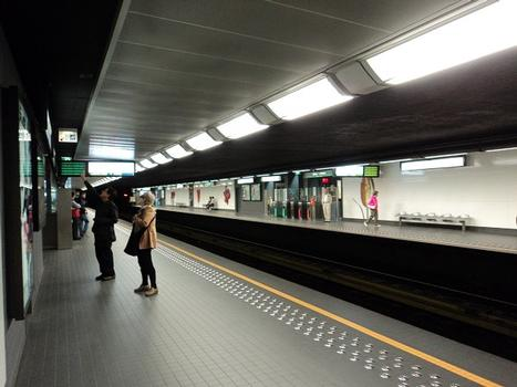 Metrobahnhof Sainte-Catherine