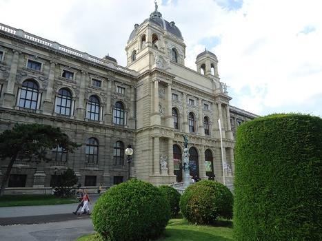Le Museum d'Histoire naturelle, à Vienne