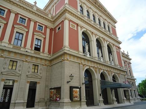 Le bâtiment du Musikverein, sur la Lothringerstrasse