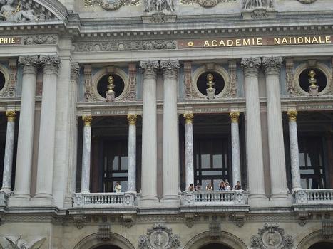 La façade de l'Opéra Garnier