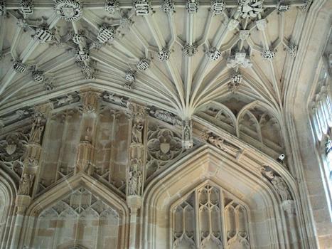 La salle d'honneur de Divinity School, à Oxford