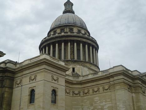 La coupole du Panthéon (Paris 5e)