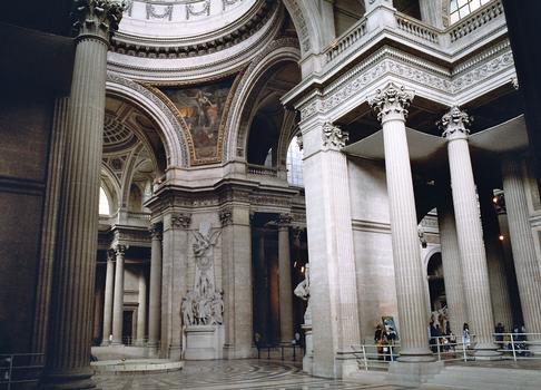 L'intérieur du Panthéon (Paris 5e)