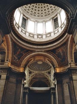 La coupole du Panthéon, vue intérieure