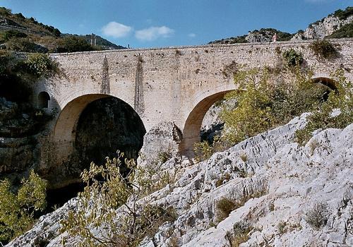 Le Pont du Diable, près de Saint-Jean-de-Fos (Hérault)