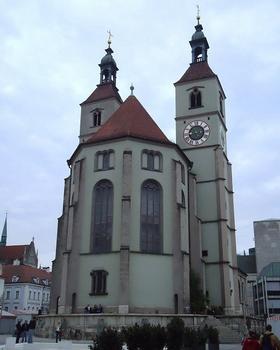 La Neupfarrkirche à Ratisbonne