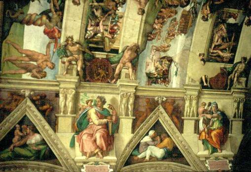 Vatican. Chapelle Sixtine.