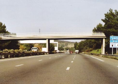 Autoroute A52 - Roquevaire