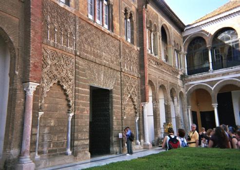 Eingang zum Alcázar (Sevilla)