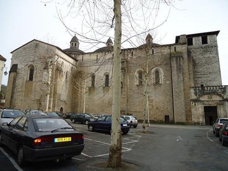 L'abbatiale romane Sainte Marie, à Souillac (Lot)