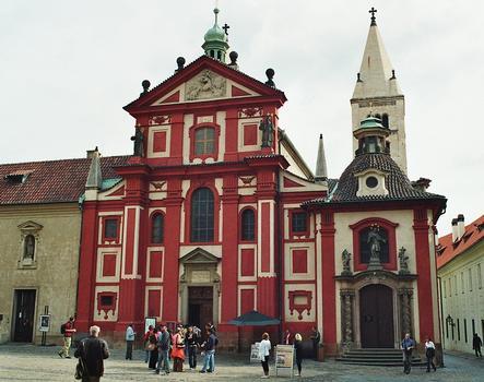 Prague Castle - Saint George's Basilica