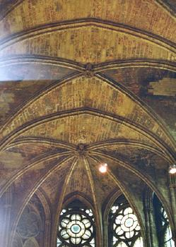 Saint-German-en-Laye CastleVaults in the royal chapel