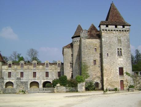 Le château de la Marthonie à Saint-Jean-de-Cole (Dordogne)