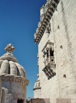 La tour de Belem (Lisbonne)