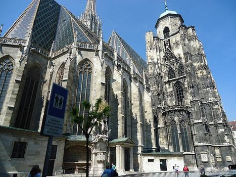 La cathédrale Saint Etienne (Stefansdom) à Vienne