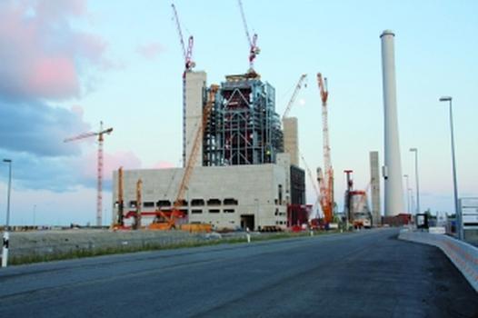 Hochmodernes Steinkohlekraftwerk in Wilhelmshaven