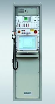 Der Digitalregler AS-C20-N-PC mit TFT-Display sorgt für die ausreichende Messfrequenz