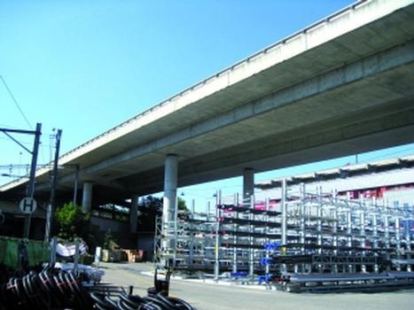 Der Weyermannshaus-Viadukt in Bern