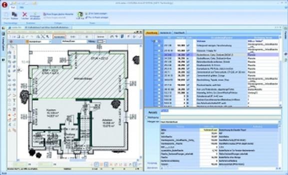 CAD-Interface zu GRAPHISOFT ArchiCAD, CasCADos und ArCon (Screenshots: COSOBA)