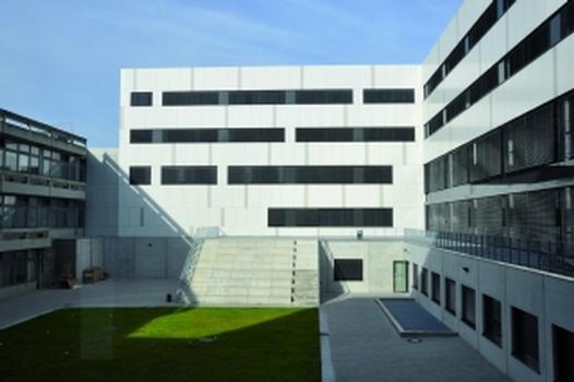 Innenhof der Ruhr-Universität Bochum