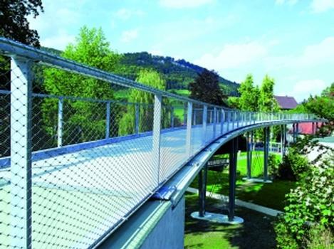 Textilbetonbrücke Albstadt-Lautlingen