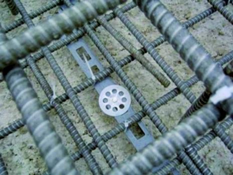 Plattenbewehrung aus glasfaserverstärktem Kunststoff