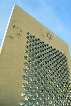 Moderne Erinnerungskultur aus Beton: das neue Shoah-Mahnmal in Herne