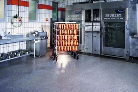 Reaktionsharz-Böden für die Lebensmittelindustrie