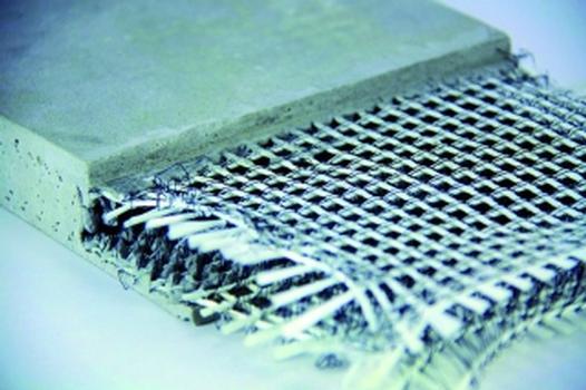 Das Besondere des neuen Fassadensystems ist die Bewehrung in Form eines 3-D-Textils. Sie besteht aus zwei Textillagen im Abstand