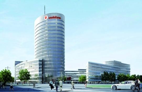 Bauvorhaben Vodafone Campus Düsseldorf (Foto: HPP)