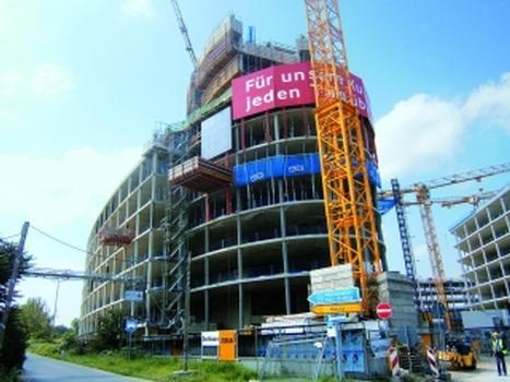Bauvorhaben Vodafone Campus – aktueller Baufortschritt