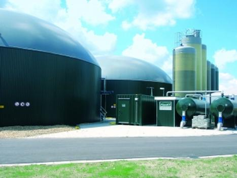 Biogasanlagen – durchgängig mit HiCAD und HELiOS realisiert (Foto: PlanET Biogastechnik)