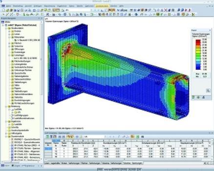 Bemessung von nicht standardisierten Stahlbau-Verbindungen mit dem Dlubal-Programm RFEM