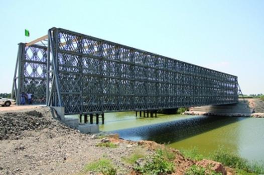 Paneelbrücken ermöglichen Kraftwerksbau