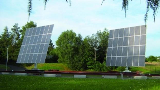 Nachführsystem für Solaranlagen