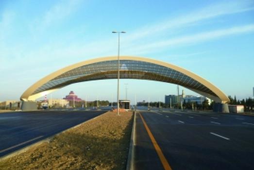 Baku Airport Tollgate – Sternenhimmel