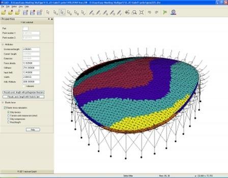 Computermodell (Windlastzonen)