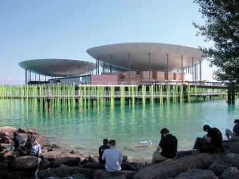 Les Galets (Expo 02 Neuchâtel) (Fotos/Screenshot: gründig + partner)