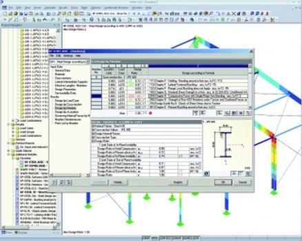 Internationale Bemessungsnormen für Statiksoftware
