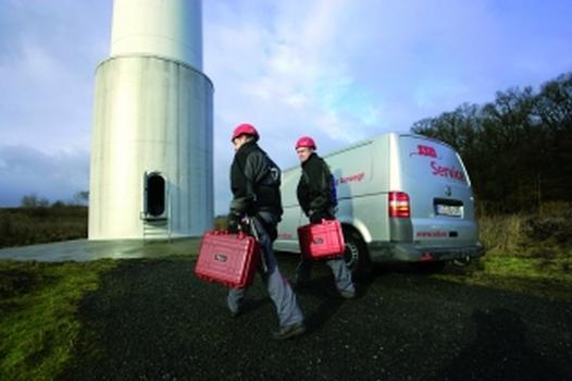 Die SSB Service GmbH hat sich auf die Wartung von WEA spezialisiert (Foto: SSB Service)