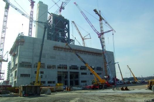 Umweltschonender Hochofenzement für 800-MW-Steinkohlekraftwerk in Wilhelmshaven