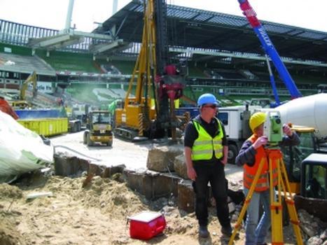 Umbau des Bremer Weserstadions