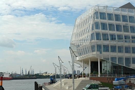 Die neue Unilever Zentrale in der Hamburger HafenCity