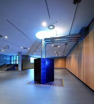 Erdwärmeleitung im neuen Servicezentrum (Fotos: HeidelbergCement)